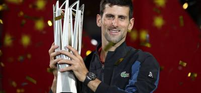 El serbio Novak Djokovic sumó un nuevo título, al proclamarse campeón del Masters 1.000 de Shanghai en China, logrando su cuarta corona en este certamen.