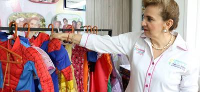 Los disfraces serán distribuidos a los infantes entre 0 y 12 años de edad.