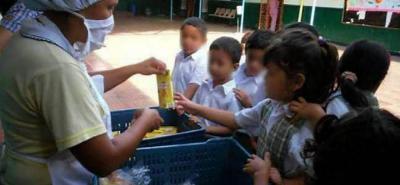 Los 9.032 estudiantes de 77 sedes en Piedecuesta recibirán la alimentación complementaria PAE por los últimos 24 días del calendario escolar 2018.