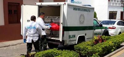 Representantes de la Alcaldía exaltaron el labor de las autoridades, pues los presuntos homicidas fueron capturados al poco tiempo de cometer el delito.