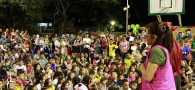 Con diferentes actividades, la Alcaldía de Girón está desarrollando la celebración del 'Mes de los Niños'.