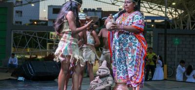 Los asistentes al Congreso Intercultural Infantil conocieron sobre las tradiciones de las comunidades indígenas.