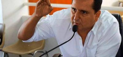 Heriberto Vera Pedraza era el presidente del Concejo de Floridablanca en el momento en el que se dio la irregularidad.