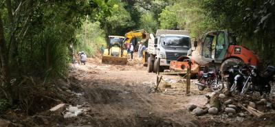 La obra contribuirá a la movilidad del corredor vial principal, conectado el norte y el occidente del municipio.
