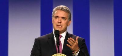 Presidente Duque afirmó que van por alias 'Cabuyo'