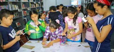 La alianza entre la Alcaldía y el Ministerio de Cultura busca generar el gusto por la lectura de los niños.