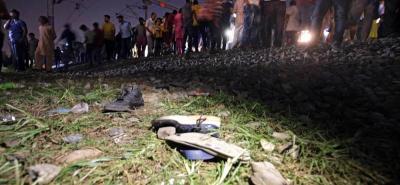 En la India, las tragedias relacionadas con los medios de transporte como trenes y autobuses son frecuentes.
