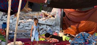 El terremoto de magnitud 7,5 provocó 2.103 muertos, 4.612 heridos graves y más de 67.000 casas destruidas o dañadas.