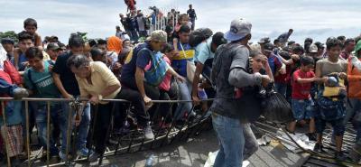 Los migrantes se están marchando por la inseguridad, la falta de empleo, y en muchos casos por salarios muy bajos.