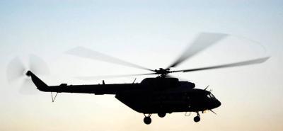 Desaparece helicóptero del Ejército en Cauca
