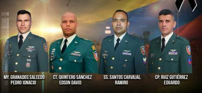 El sargento segundo Ramiro Santos Carvajal era oriundo de Sabana de Torres, municipio de Santander.