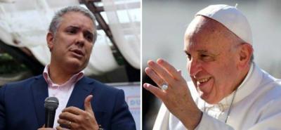 La agenda de Duque incluirá la audiencia privada el papa Francisco.