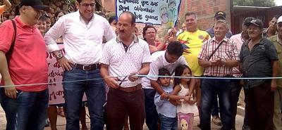 El pasado fin de semana la agenda del mandatario local estuvo muy agitada pues se inauguraron obras en Nueva Colombia, Mata Baja y San Francisco Delacuesta.