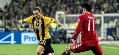 Con James durante 62 minutos, Bayern Múnich venció 2-0 al AEK de Atenas