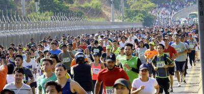 Definidos recorridos para ¼ y ½ Maratón de Bucaramanga