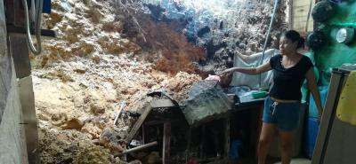 Lluvias afectaron 10 ranchos en asentamiento humano de Girón