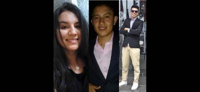 María Fernanda Chavarro Peña, Miguel Gómez Quintero y Daniel Steven Pinto Ramírez son las víctimas fatales del choque ocurrido este lunes a las 10:45 de la noche en vía nacional.