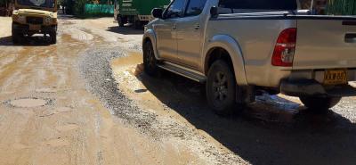 La pavimentación del sector se debe hacer entre las constructoras y el municipio por medio de un convenio con la PDS.