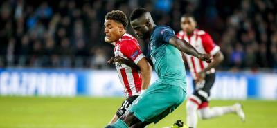 PSV y Tottenham empataron 2-2 en la Liga de Campeones