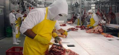 En las exportaciones de carne colombiana de enero y julio de 2018,  Rusia participó con el 60,1% (US$ 27 millones) y Líbano aportó 15,7% de las compras del producto nacional.