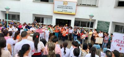 Vanguardia Liberal recorrió junto con la Defensa Civil distintos puntos de la ciudad para observar la atención de la ciudadanía ante la actividad.