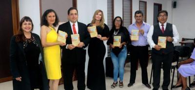 Sandra Cuesta, Matilde Chanagá, Andrés Pérez Zapata, Martha Zapata, Margarita Restrepo, Álvaro Ballesteros y José Antonio Contreras.