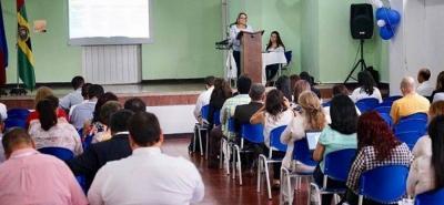 Al evento asistieron representantes de Colciencias, Icfes, Asis, Fondo de Financiación de Educación, profesores, secretarios de educación y padres de familia.