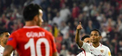 Así fue el gol de Muriel en el triunfo del Sevilla ante el Akhisarspor