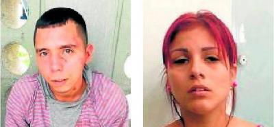 Alias 'Yiyo' y 'Wendy' fueron enviados  a la cárcel por atacar a bala a un Policía