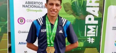 Ha traído para el departamento reconocimientos que lo han llevado a una posición tal, que para el 2019 representará a Colombia en un mundial juvenil en Suiza.