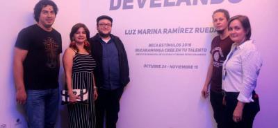 Dago Rivera, Luz Marina Ramírez, Martín Camargo, Fredy Celis y Rosabel Martínez.