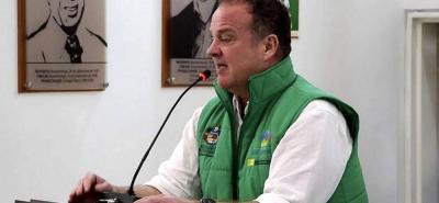 Jorge Figueroa Clausen figura en la baraja de candidatos a aspirar a la Alcaldía de Bucaramanga. Su renuncia para esta fecha permite que no se inhabilite para las próximas elecciones.