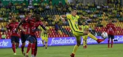 Medellín y Bucaramanga, los equipos de mejor presente en la Liga Águila, disputarán este domingo el partido más atractivo de la fecha 17 de la Liga Águila II de 2018. El 'Poderoso de la Montaña' registra cinco triunfos consecutivos y el club 'Leopardo' suma siete victorias sucesivas.