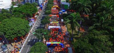 Atento: estos serán los cierres viales en Bucaramanga por la maratón de este domingo