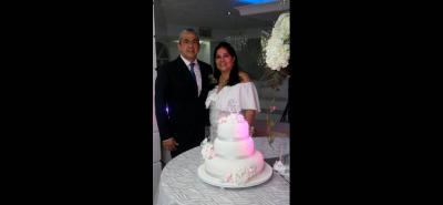 Claudio Gustavo Reyes y Carmen Cecilia Valdivieso.