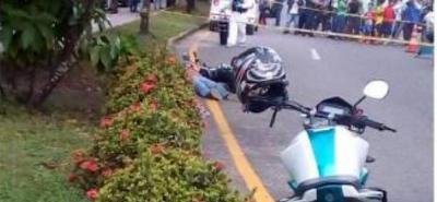 El CTI realizó el levantamiento del cadáver, pese a que ayer estaba de turno la Sijín.