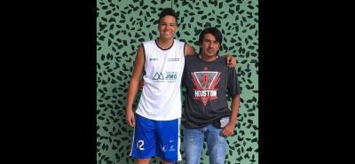 Andrés David Jaimes considera que el amor que sienten sus padres por el deporte lo contagio a él desde muy temprana edad