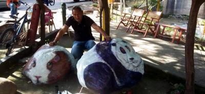 Antonio Olave es uno de los artistas destacados de la comunidad ROM.
