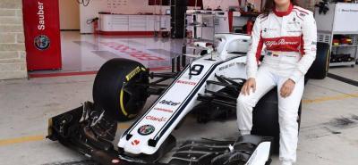 La piloto bogotana Tatiana Calderón Noguera se convertirá no sólo en la primera colombiana, sino en la primera latinoamericana que conducirá un monoplaza de Fórmula Uno, y lo hará el próximo martes en el autódromo Hermanos Rodríguez de Ciudad de México.