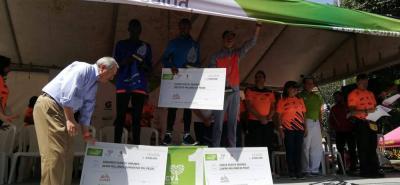 Kenia dominó en le Media Maratón de Bucaramanga