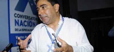 Fernando Castillo Cadena, presidente de la Sala de Casación Laboral.