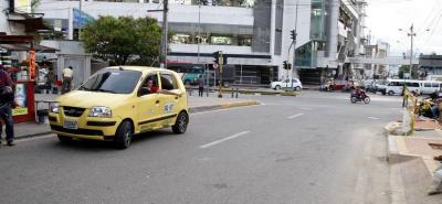 En la carrera 18 con calle 55, en cercanías a San Andresito La Isla en Bucaramanga, el taxista encontró al menor de edad.