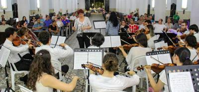 La música clásica fue el tema principal del último evento cultural que se desarrolló en Girón.