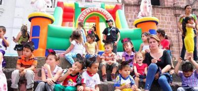 Más que recreación y juegos las autoridades del municipio buscan llevar un mensaje de buen trato hacia  la niñez local.
