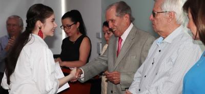 Premiación XII Encuentro de Semilleros de Investigación UNAB.