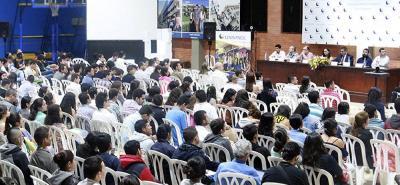 El evento inició ayer en la tarde y continúa hasta el 3 de noviembre en el Centro de Convenciones de Cajasan Guarigua.