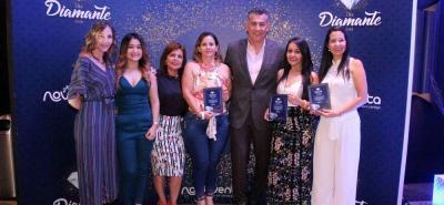 Sandra Pérez, Yuliet Daza, Claudia Rangel, Floralba Jiménez, Fernery García, Leidy Villamizar y Leidy Ortega.