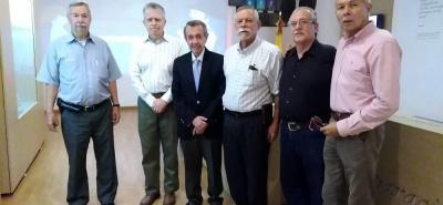 Pedro A. Vivas, José Andrés García, Germán Iván Caballero Gerardino, Fernando Duarte, Luís Hernando Bohórquez y Manuel Ojeda.