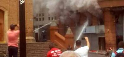 Explosión sacudió sede de la Fiscalía en el centro de Cali