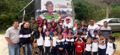 150 personas de las veredas Cristales, La Nevera, Santa Rita y Sevilla se beneficiaron de la jornada de salud.